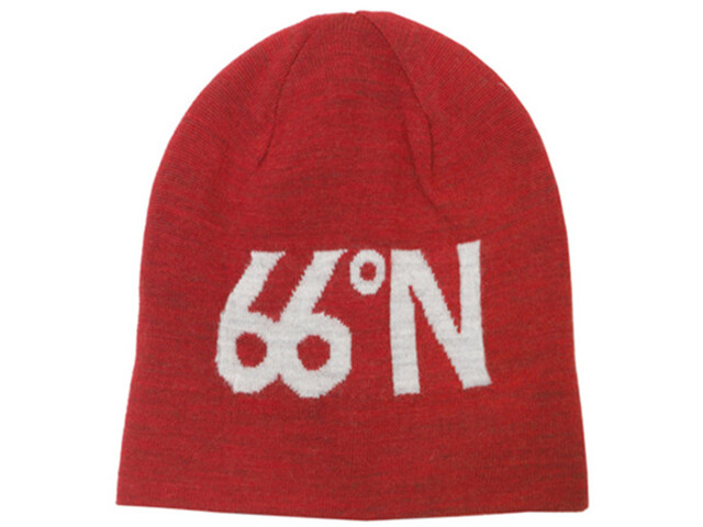 66° North 66°N Fisherman's Cap, scarlet/ash grey